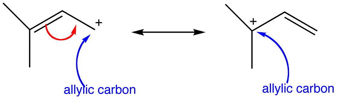 Allylic Carbocation Ochempal