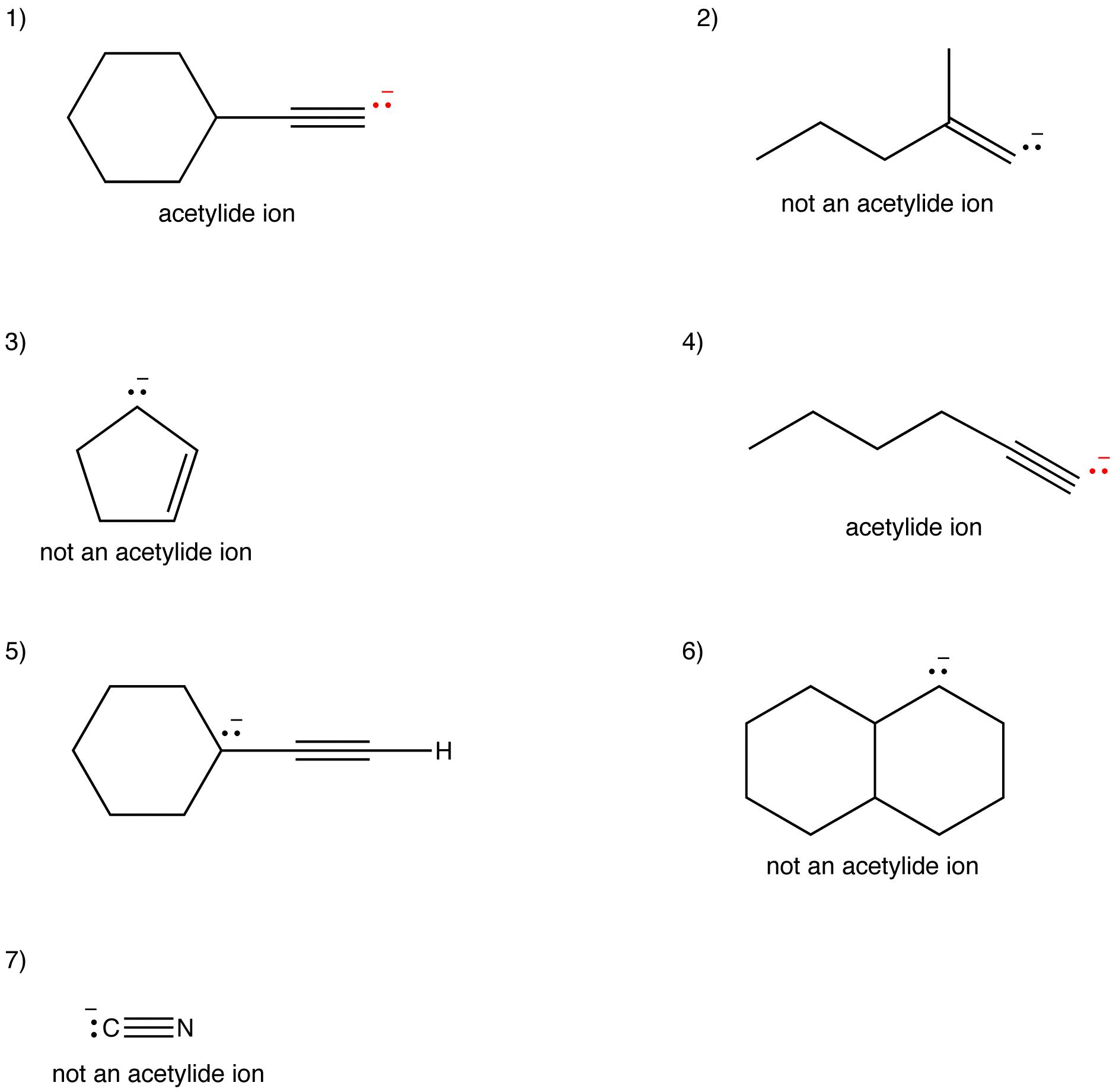 Acetylide Ion Answers Ochempal