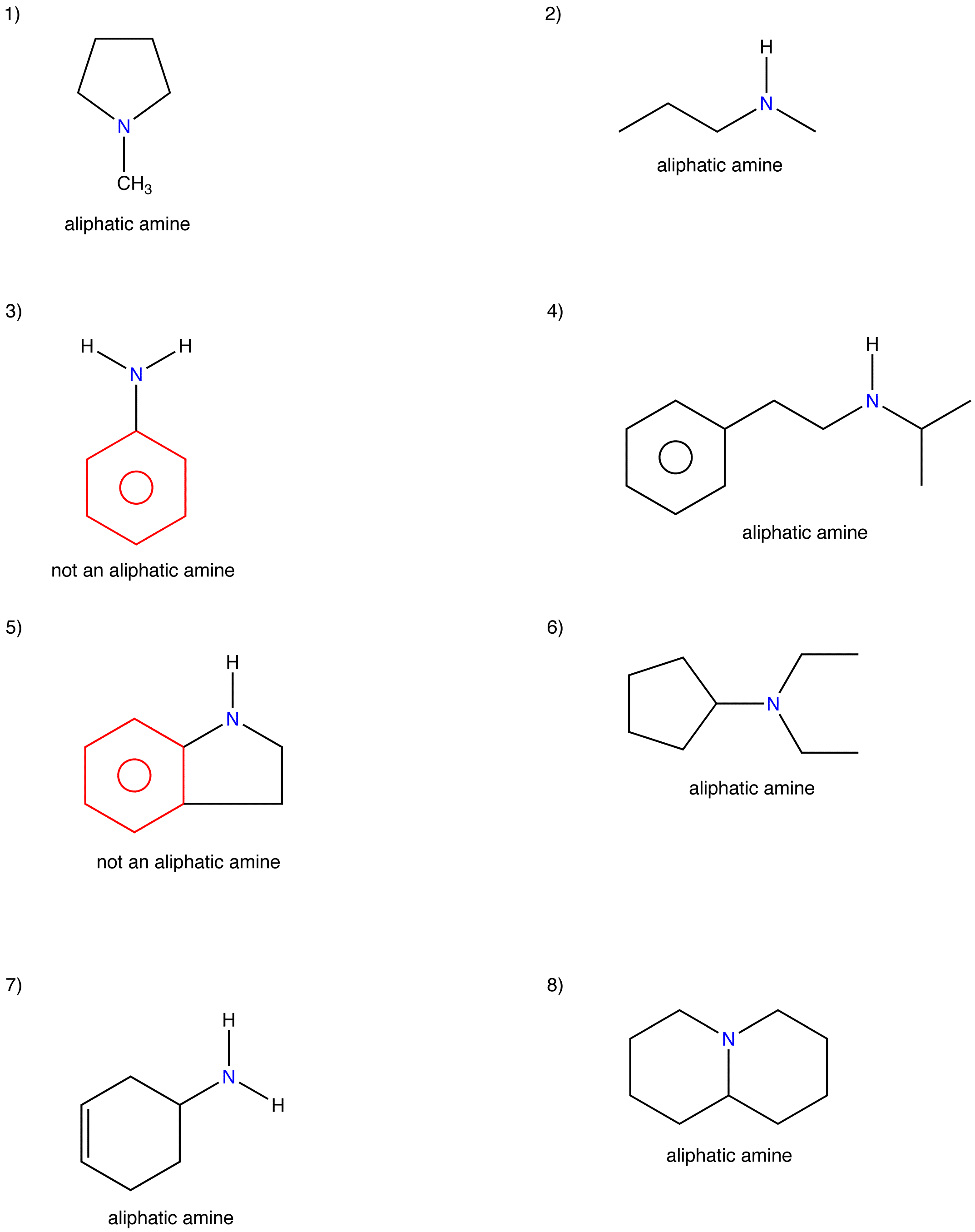 Aliphatic Amine Answers Ochempal