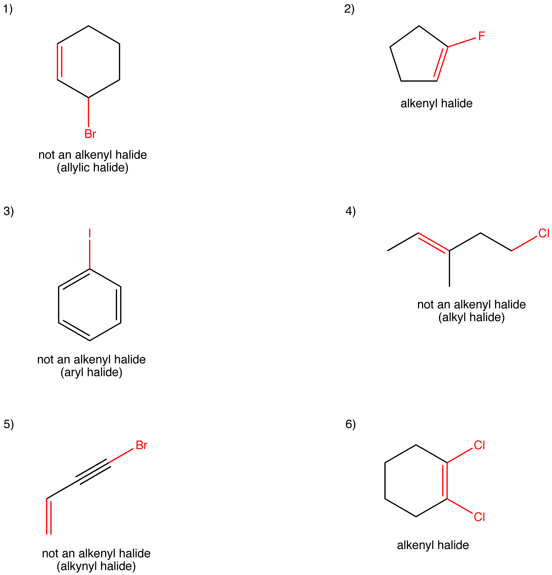 Alkenyl Halide Answers Ochempal