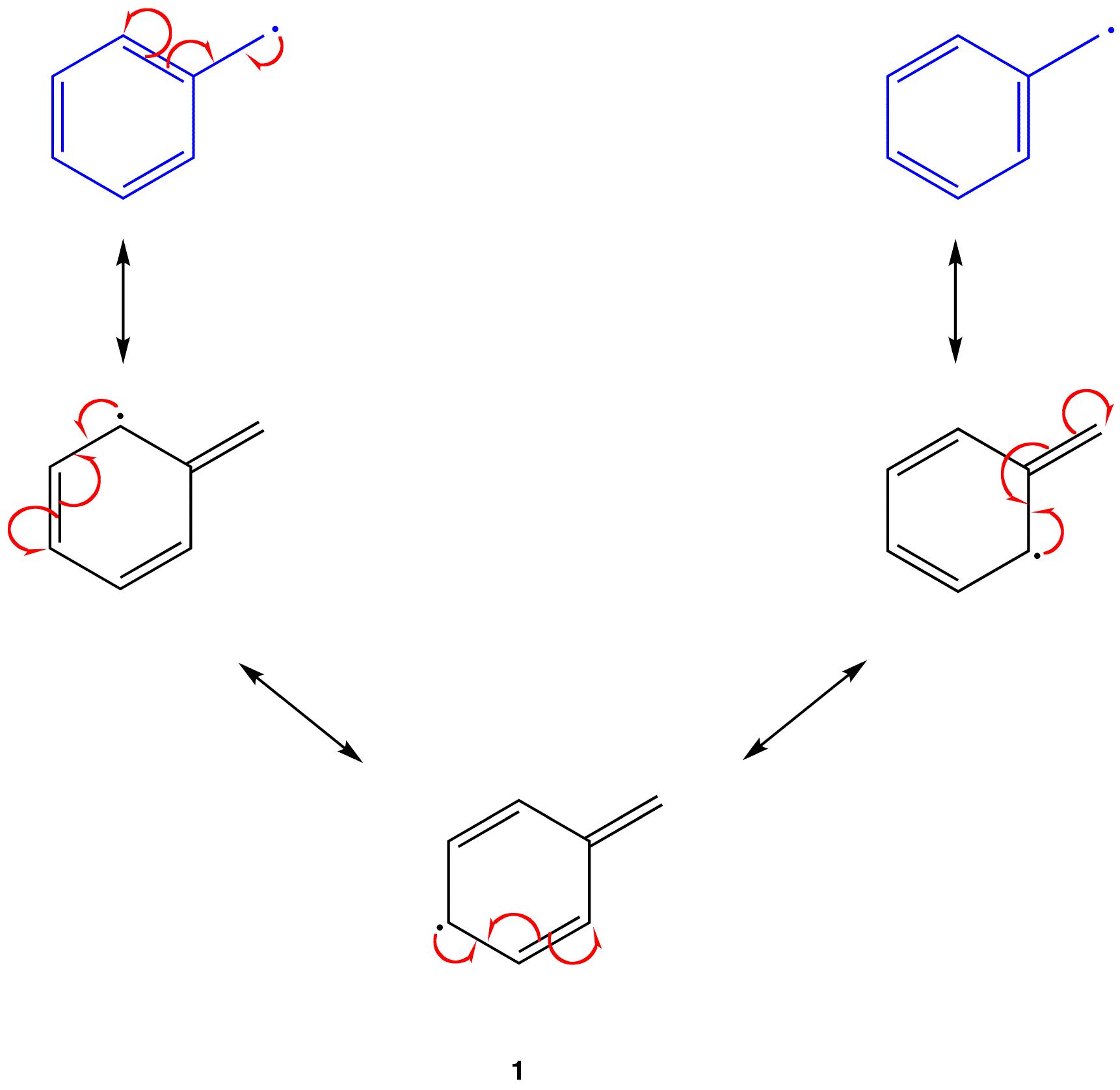 how to draw bebzyl alcohol