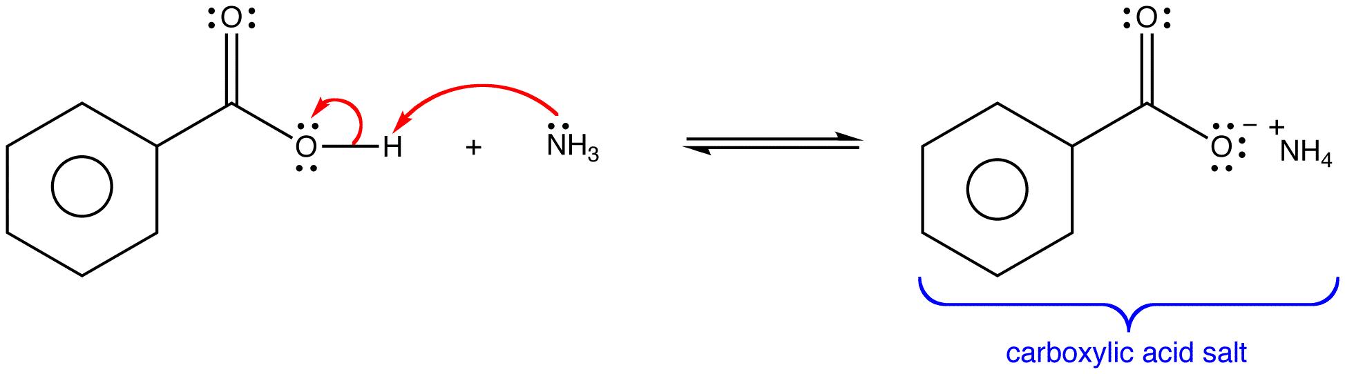 Benzene Ring And Carboxylic Acid