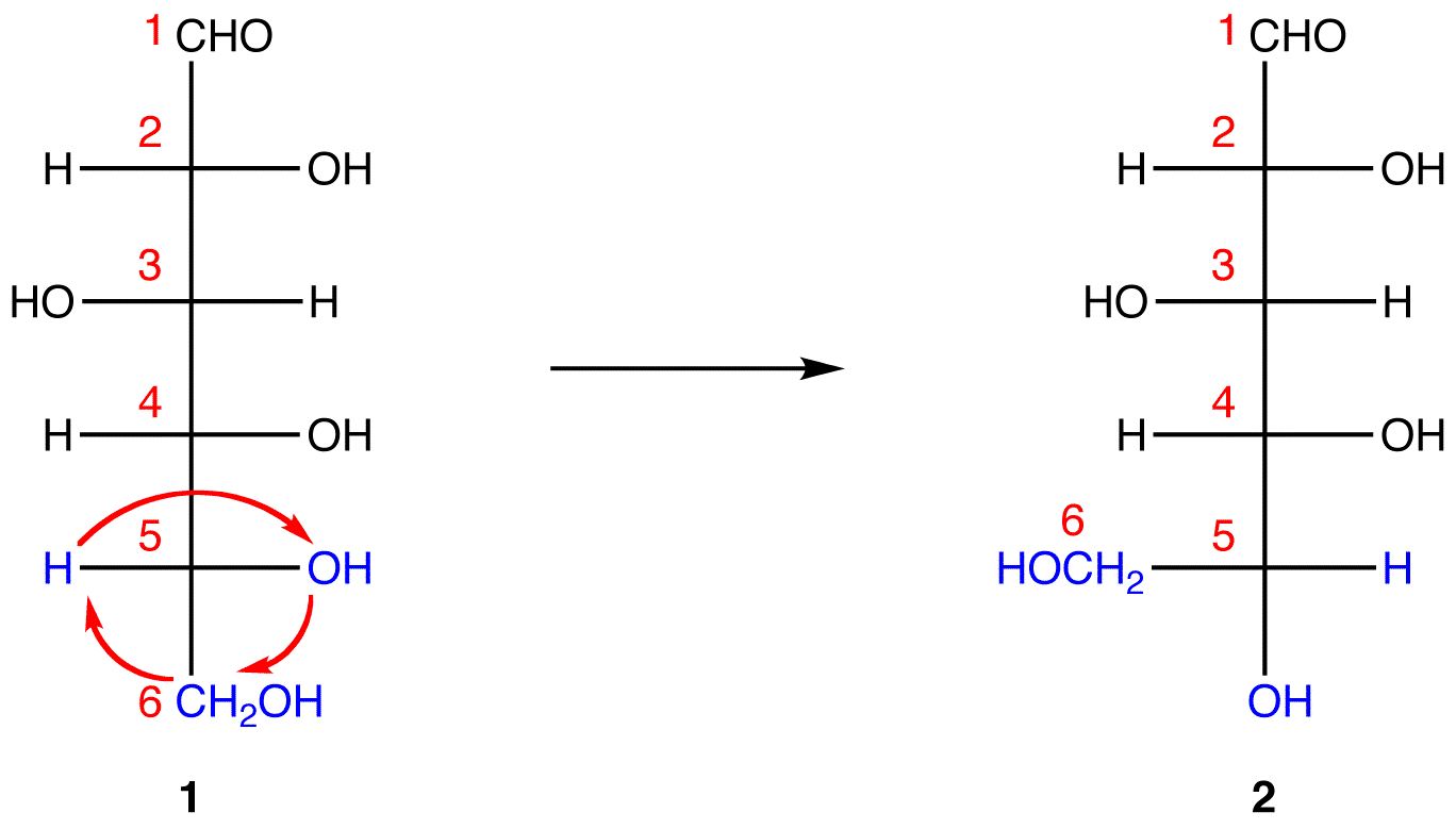Chair conformation glucose - 1 And 2 Both Represent D Glucose But In 2 Unlike In 1 C 1 And The Hydroxy Group On C 5 Are On The Same Side Of The Plane Of The Paper