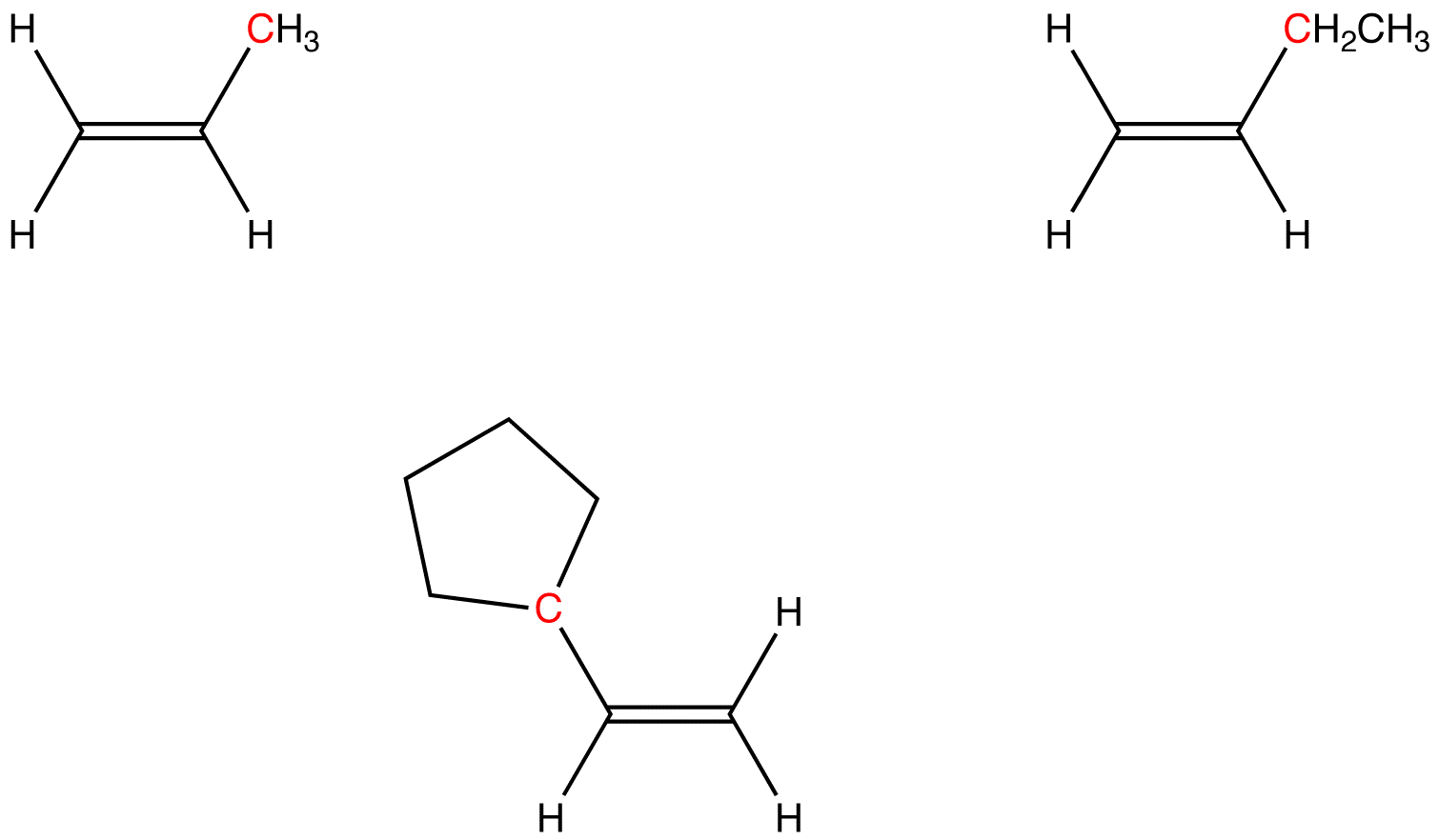 Monosubstituted Alkene Ochempal