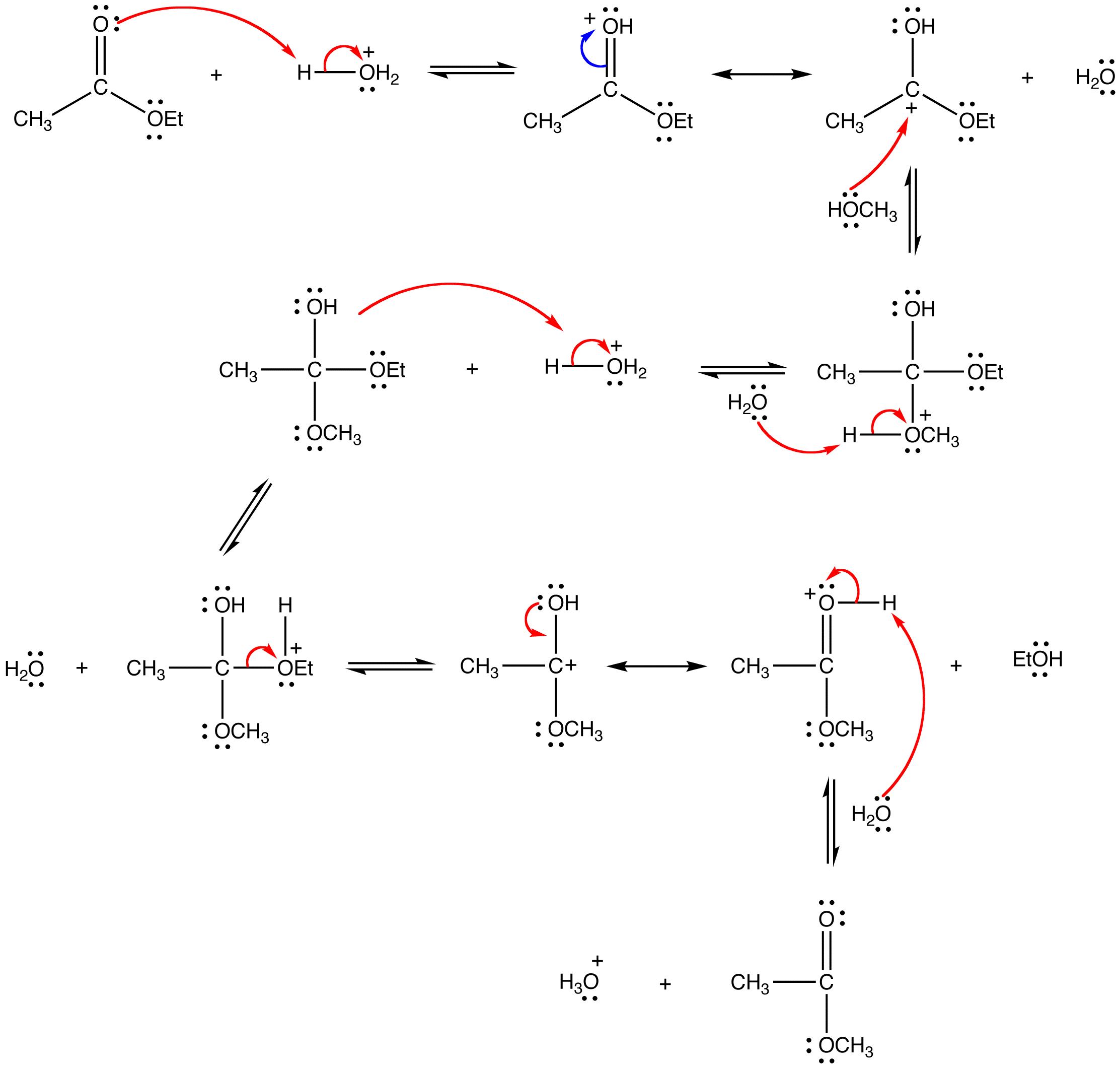 Transesterification Ochempal